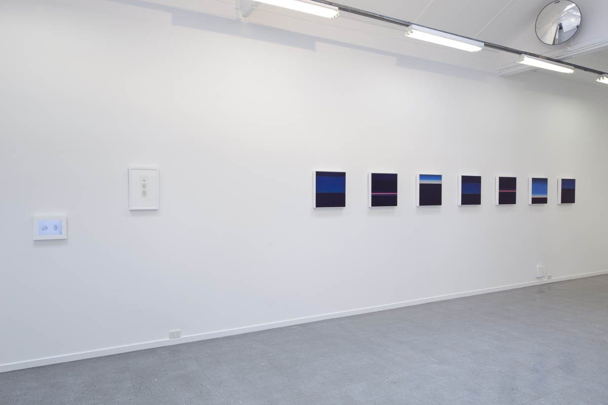 Surface of the Earth animation, Lava / Moon, Stratosphere (St Petersberg- Helsinki) Series, Installation view