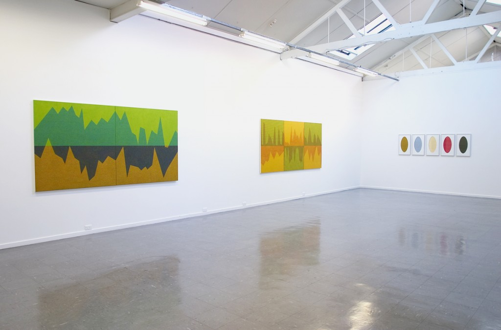 Geophysical Space,  2005. Installation view, Sutton Gallery Melbourne, photography Andrew Curtis