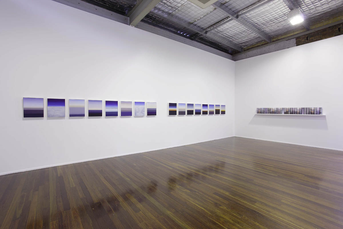 Turning Sky into Stone, Installation view Milani Gallery Brisbane,  photography Carl Warner